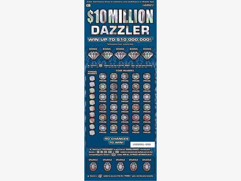 Lottery scratchers wins