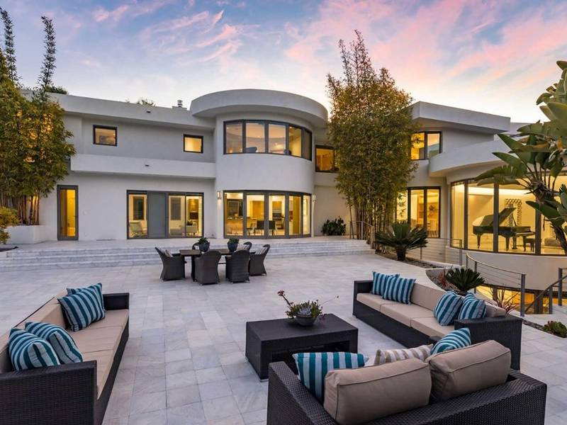 Contemporary Silicon Valley Pool Home With Wine Cellar: $9.8M | Palo Alto, CA Patch