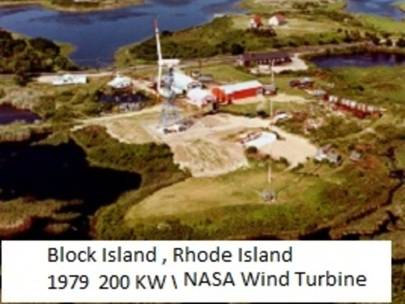 Block Island R I Wind Turbine Electric Rates 40 40