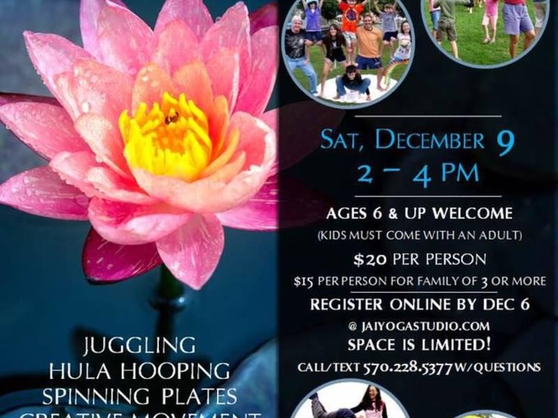 Circus Yoga The Human Art Of Play December 9 Arlington Heights