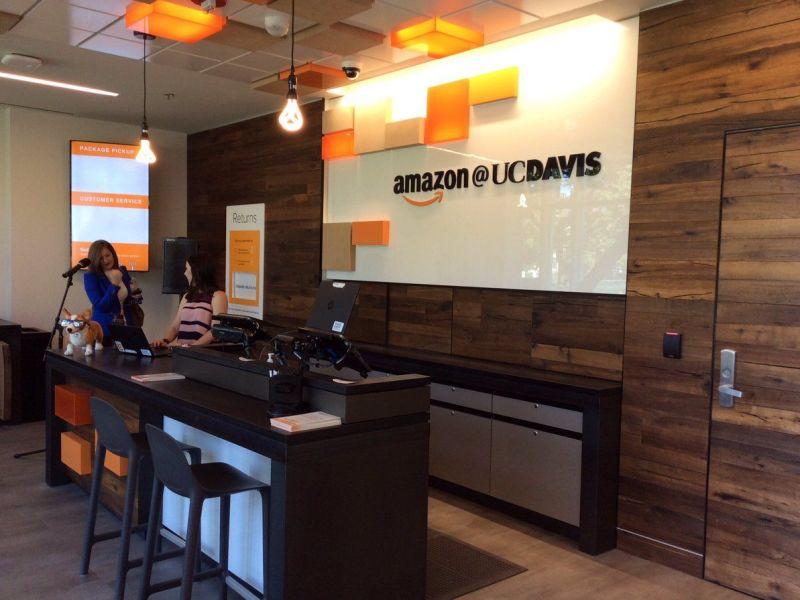 Superbe Amazon Opens New Pickup Location At UC Davis