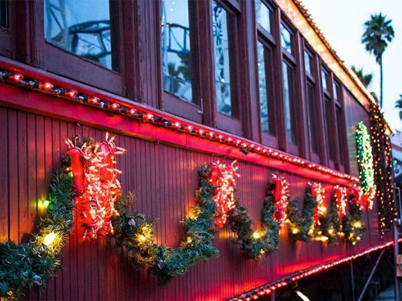 make your plans holiday trains coming soon to beach boardwalk santa cruz