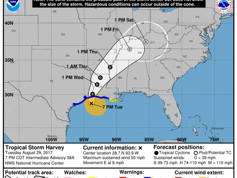 Harvey Louisiana Map.Hurricane Harvey Wallop A Comin What S In Store For Louisiana