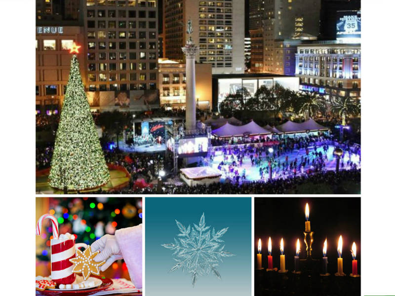 holiday tree lightings parades ice rinks sf bay area 2017 - Bay Area Christmas Lights