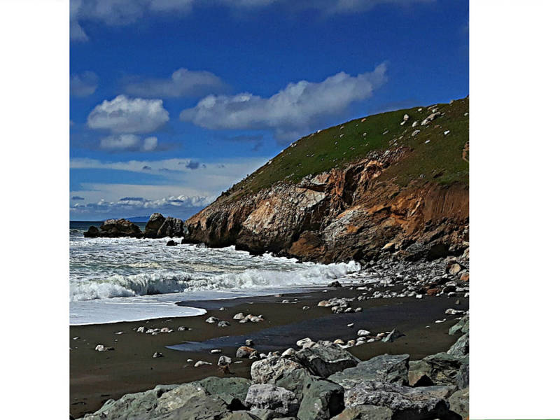 Spring Stroll At Rockaway Beach Pacifica Photo Of The Week