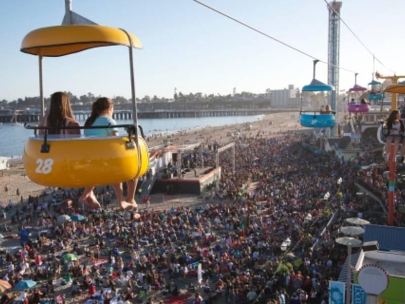 Santa Cruz Beach Boardwalk Free Movies Concerts See Lineup
