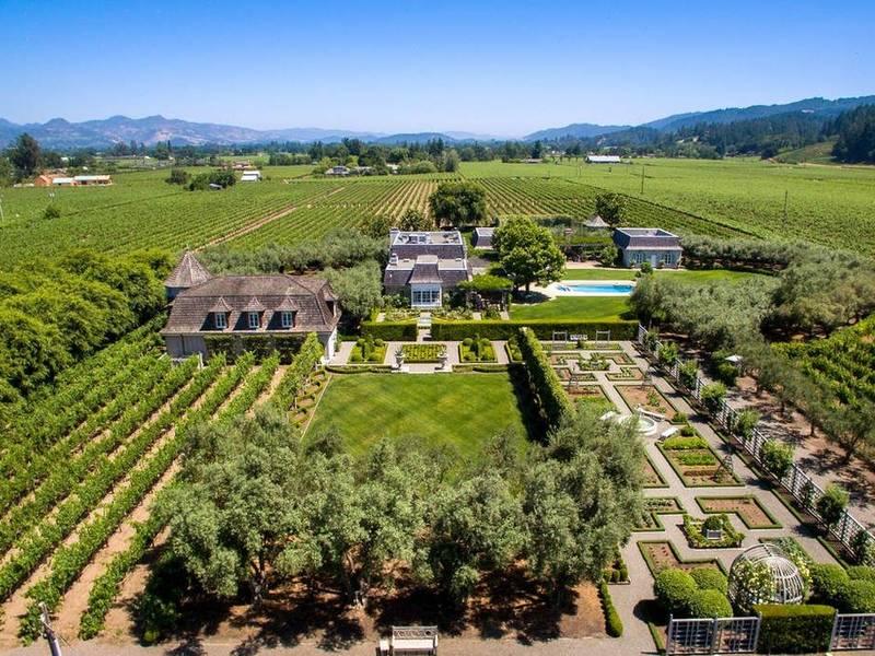 Peek Inside $15M Historic, Wine-Country Estate: St. Helena
