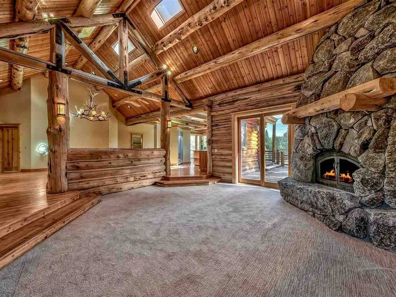Truckee Listing Takes Log Cabin To New Level