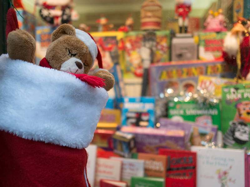 Holiday Toy Drive Underway At Gelson's Market In Santa Monica