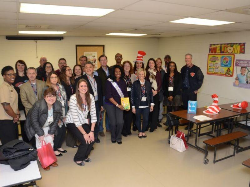 United Way Of Lake County Celebrates Dr Seuss Birthday