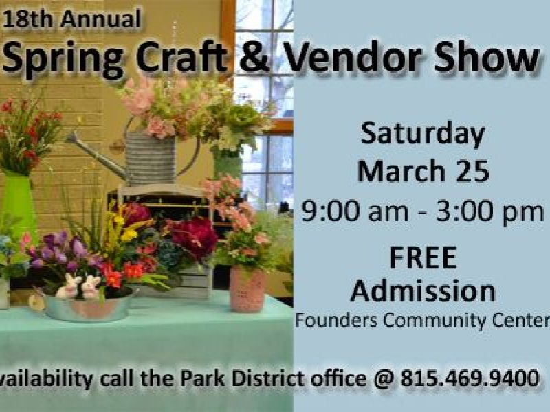 Orland Park Il Craft Show