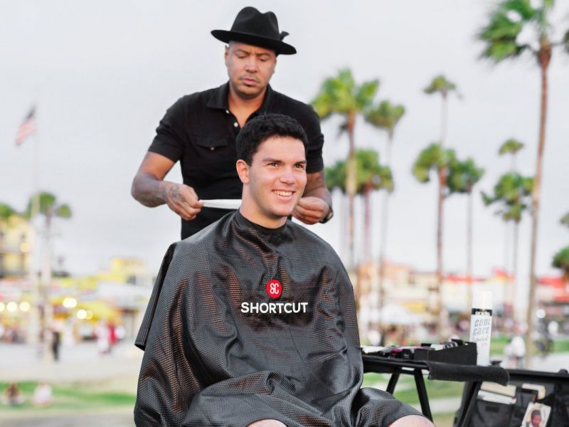 Mobile Barbershop Appeals To All Ages Request An In Home Day Of