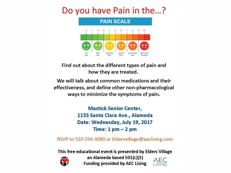 Do You Have Pain In The Alameda Ca Patch