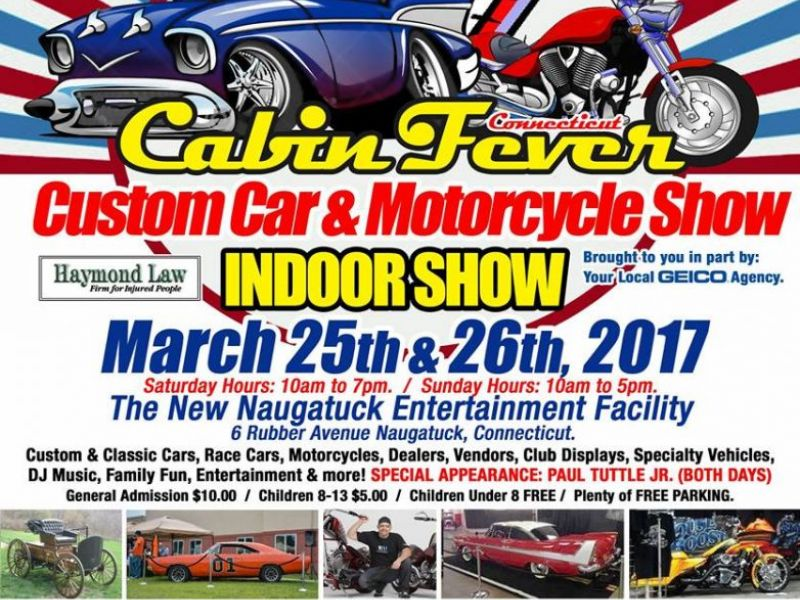 Indoor Car Show In Naugatuck This Weekend Reminder Naugatuck CT - Indoor car show