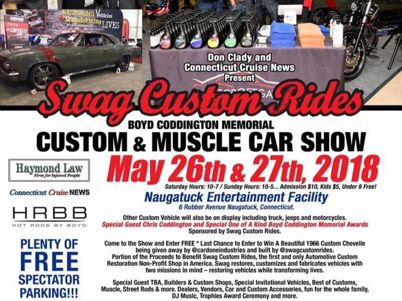 Tribute Custom Muscle Car Show In Naugatuck This Weekend - Restore a muscle car car show