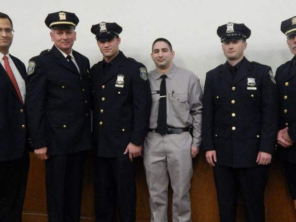 Garden City Police Officers Recruit Take Their Oaths Garden City Ny Patch