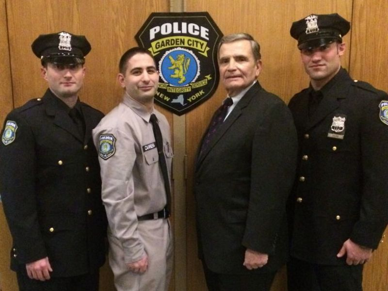 Garden City Police Officers, Recruit Take Their Oaths | Garden City, NY  Patch