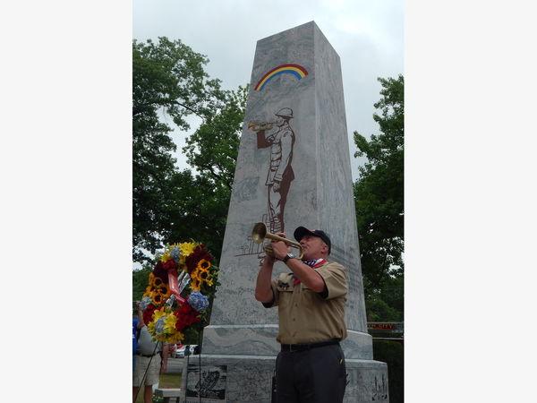 Centennial Celebration Of The 42nd Rainbow Division. Garden City