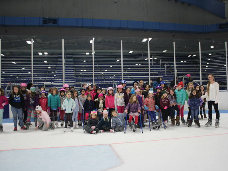 Ice Skating for a cause - Girl Scouts