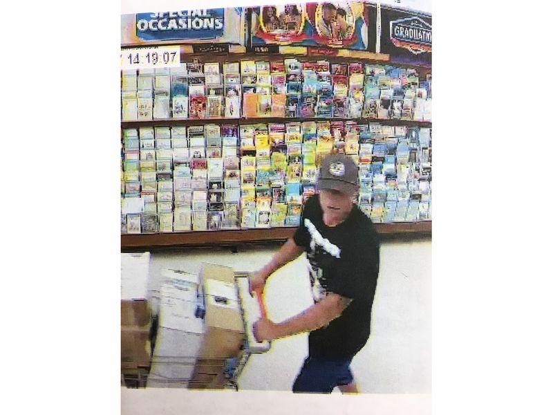 walmart shoplifting suspect sought  hamden police