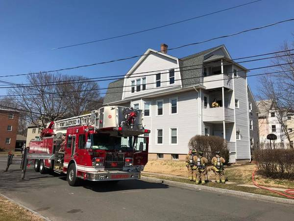 Apartment Fire Quickly Extinguished In West Hartford
