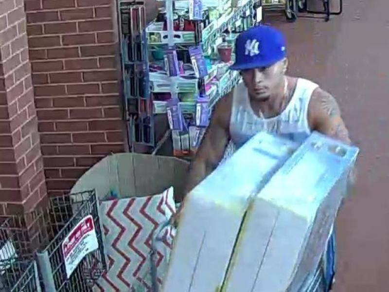 Police Seek Id Of Man Who Stole Tvs From Brick Shoprite
