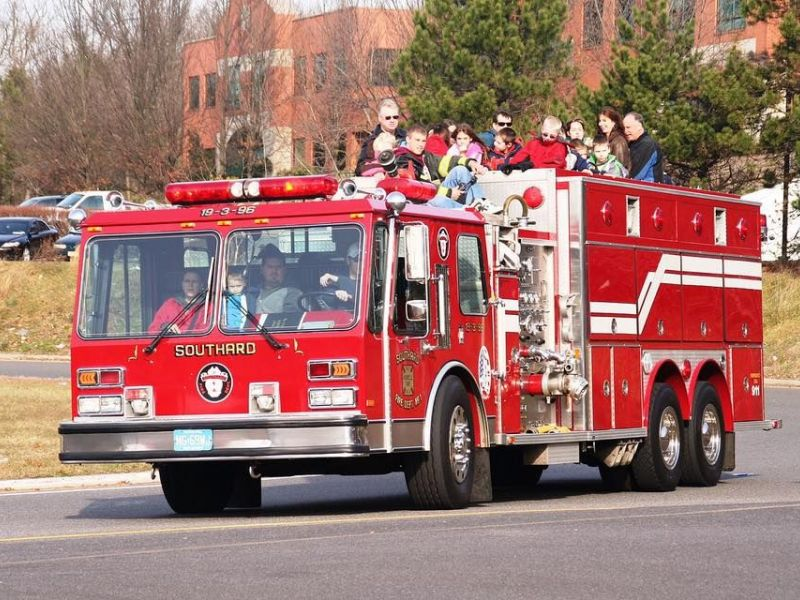santa claus is coming to howell by fire truck soon howell nj patch