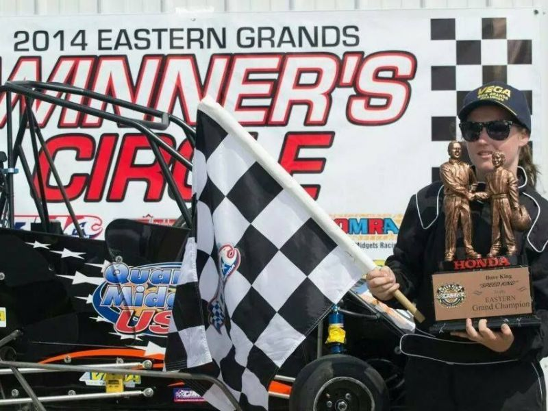 Champion driver Madison Boyd, 15, is seeking help to win sponsorships to  help fund her quarter-midget racing passion.