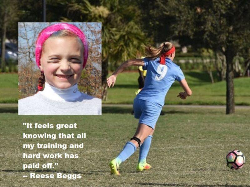 Brick 13 Year Old Chasing Soccer Dreams At U S National
