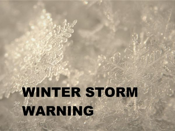 Winter Storm Warning: Brick Storm Update: Cancellations, Reminders