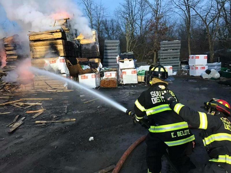 Fence Company Blaze In Howell Ruled Arson Howell Nj Patch