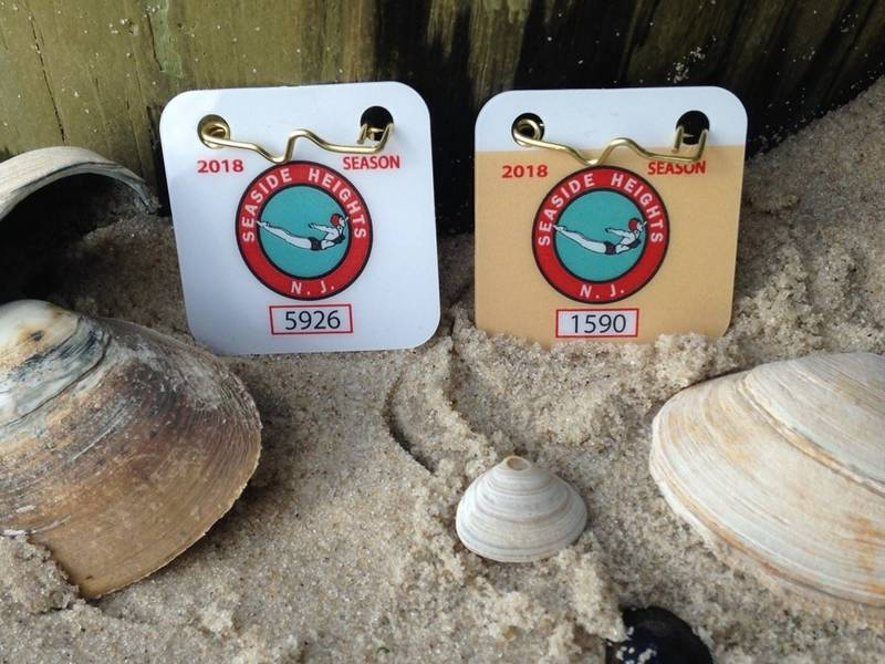 Seaside Heights 2018 Beach Badges On Sale Now Toms River