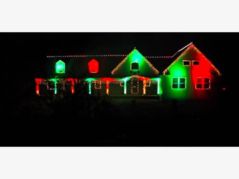 wall christmas light show shut down for 2017