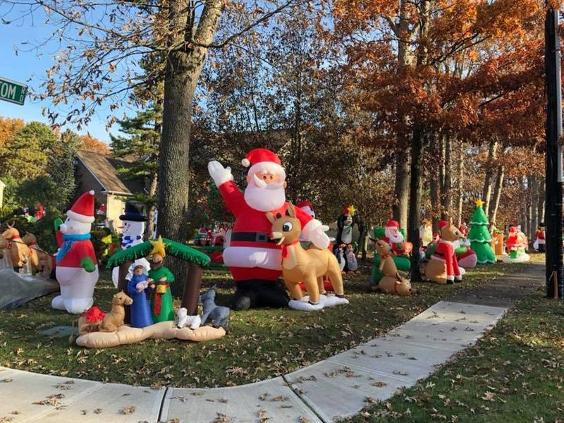 see toms river familys massive christmas inflatables collection toms river nj patch - Christmas Inflatables Cheap