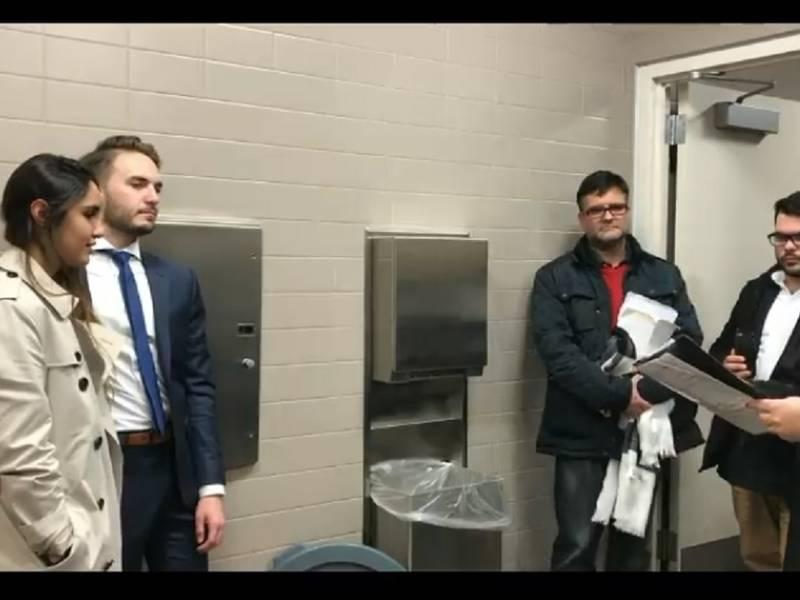 Court Bathroom Becomes Make Do Wedding Chapel For Nj