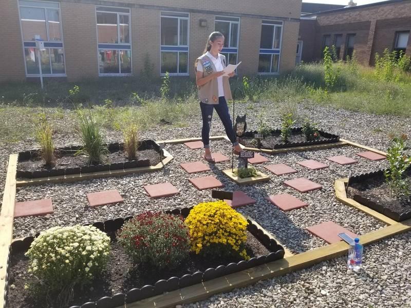 manchester student creates sensory garden at high school 0 - Sensory Garden