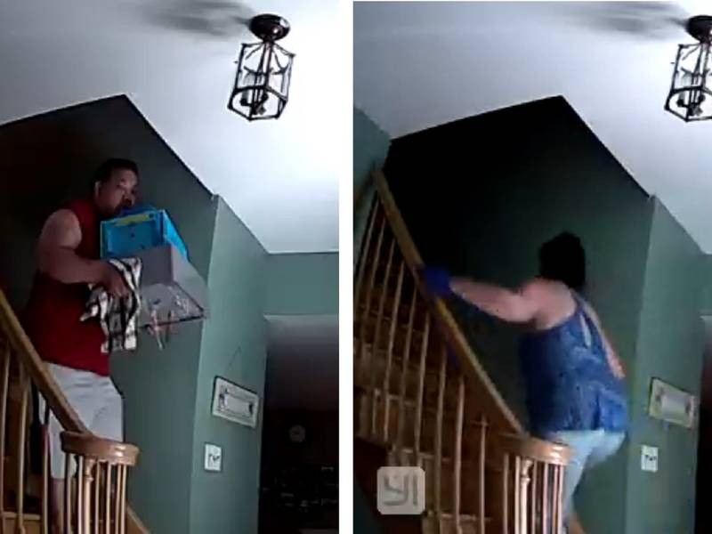 Couple Charged In Howell Home Burglary Caught On Video Police