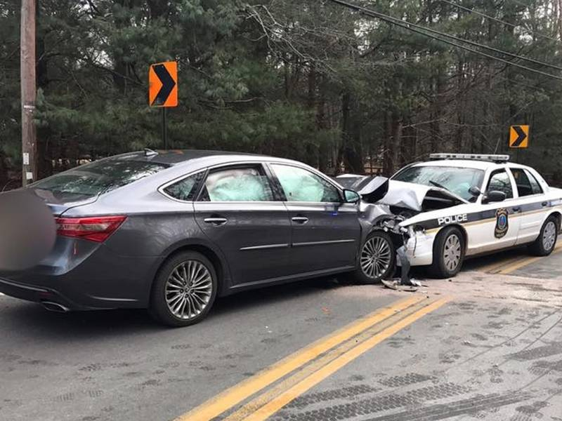 Officer, Driver ID'd In Head-On Howell Crash