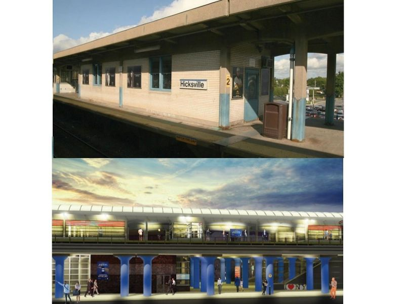 121m in renovations to hicksville lirr station begins this month
