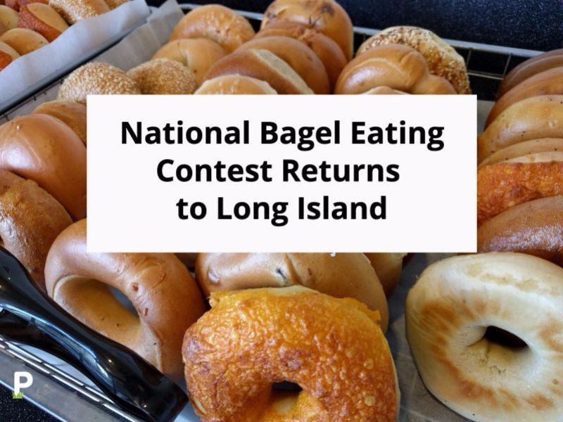 National Bagel Eating Contest Returns to Long Island ...