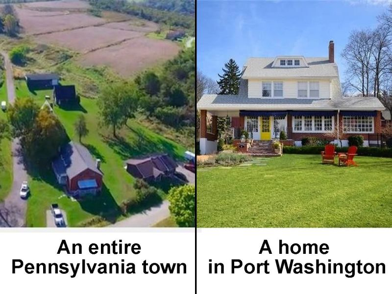 port washington homes priced the same as entire pennsylvania town port washington ny patch