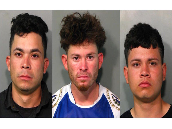 Police say 3 MS-13 gang members arrested on Long Island
