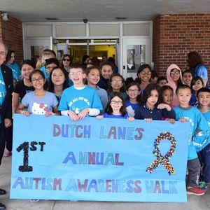 Hicksville School Holds First Annual Autism Walk