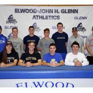 John Glenn Students-Athletes Make College Commitments