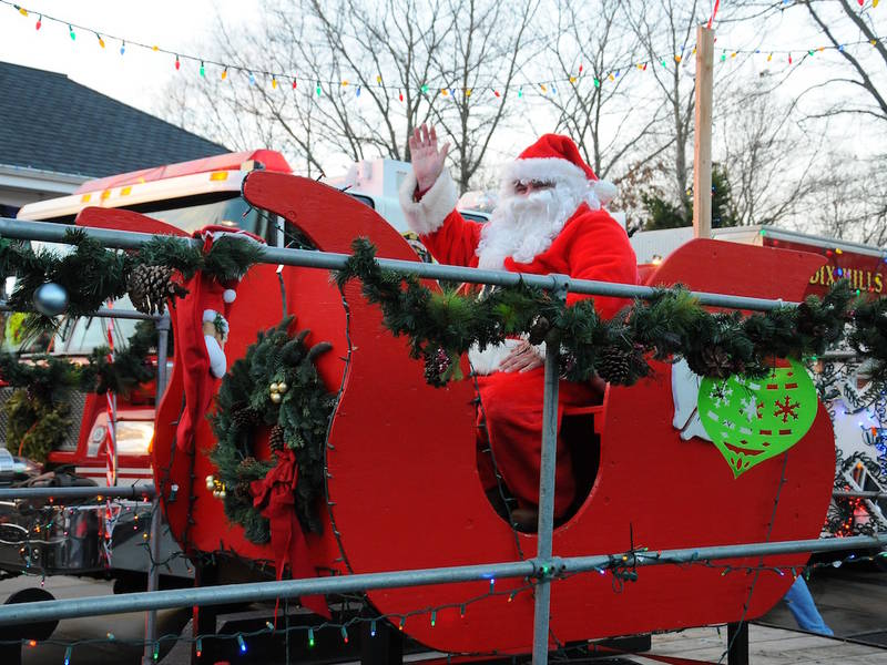 When Will Santa Visit Your Town Of Huntington Street?