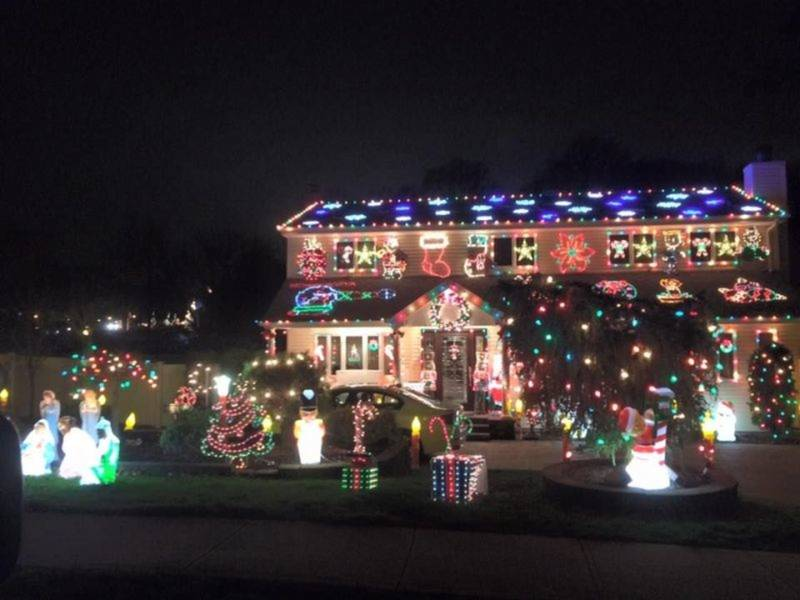 best christmas light displays across long island map glen cove ny patch - Willard Bay Christmas Lights