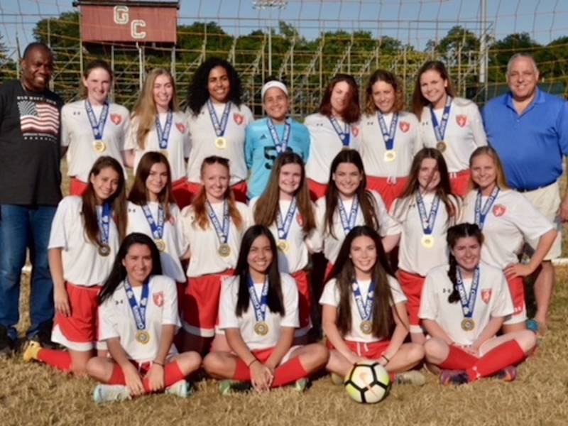 Glen Cove Wildcats Soccer Named Division Champs