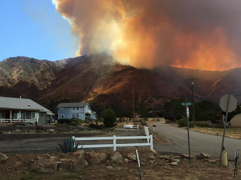 erskine fire in kern county  2016 u0026 39 s largest california