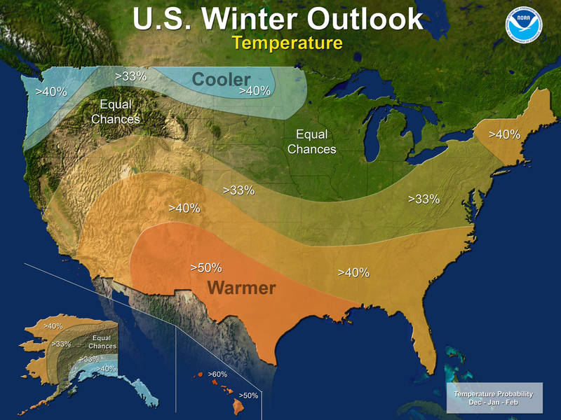 la nina is here to stay cold winter for northern u s