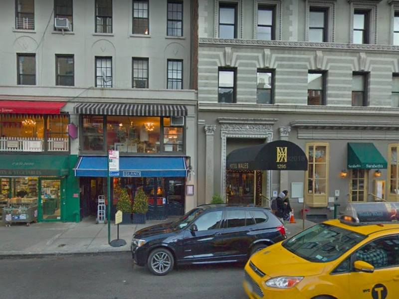 Fire Breaks Out At Upper East Side Restaurant